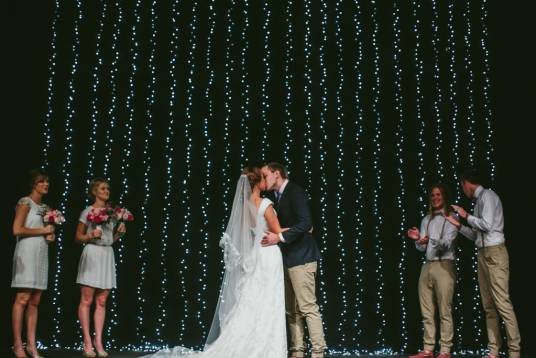 Emily's Lace Wedding Gown