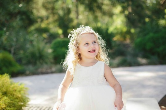 Armani's Flower Girl Dress