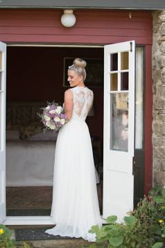 Gemma's Lace and Silk Wedding Gown