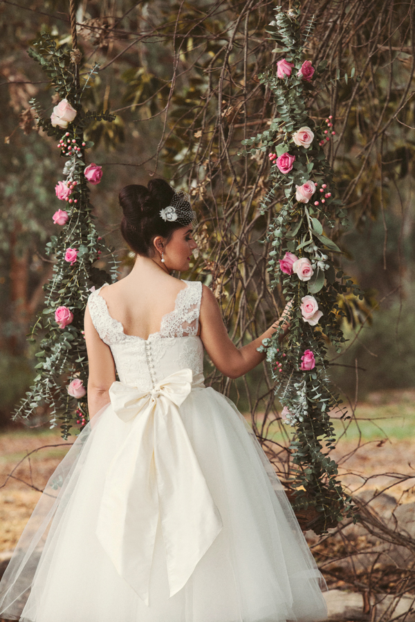 Maeve Tea Length Wedding Dress