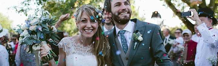 Jilly's Soft and Romantic Lace Wedding Gown