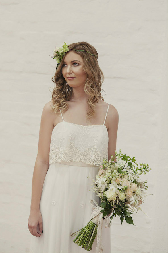 Jade Bohemian Lace Wedding Gown