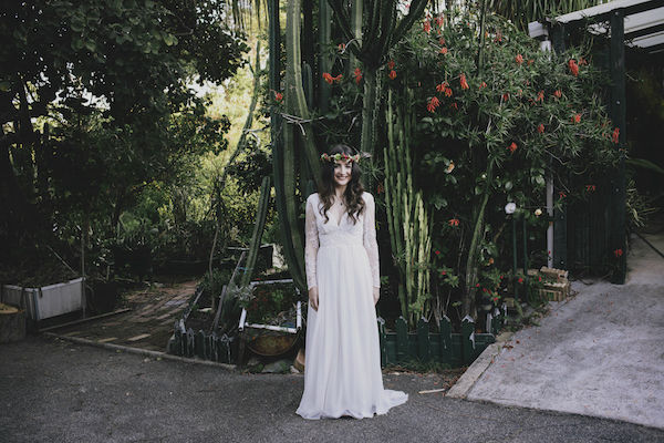 Soraya's Boho Wedding Dress