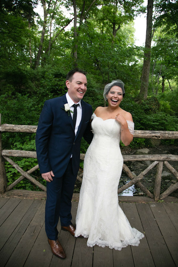 Nat's Custom Made Lace Wedding Dress