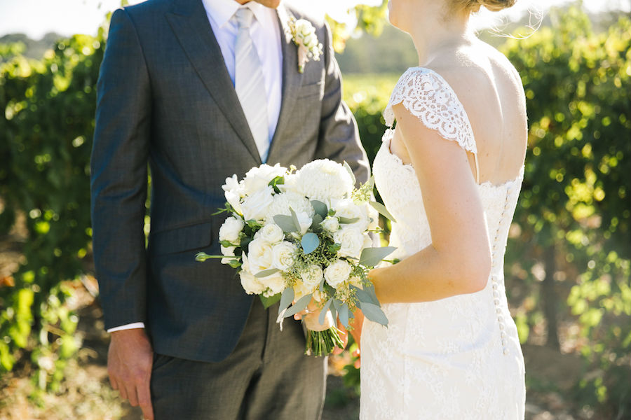 Casey's Handmade Lace and Tulle Wedding Dress