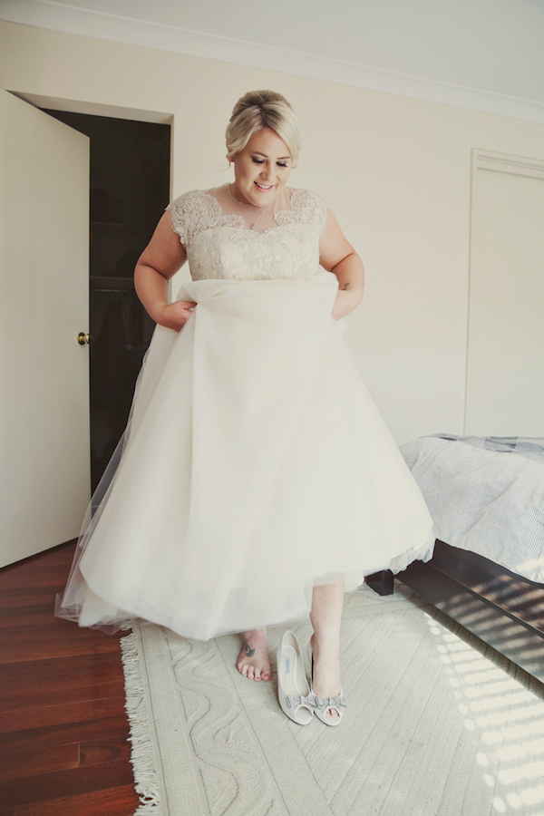 Lace Wedding Gowns Perth : Ashleigh s beaded french lace wedding dress perth elvi design
