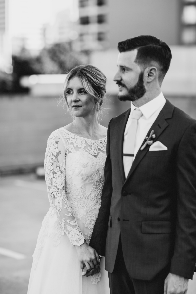 Jess's Long Sleeve Wedding Dress