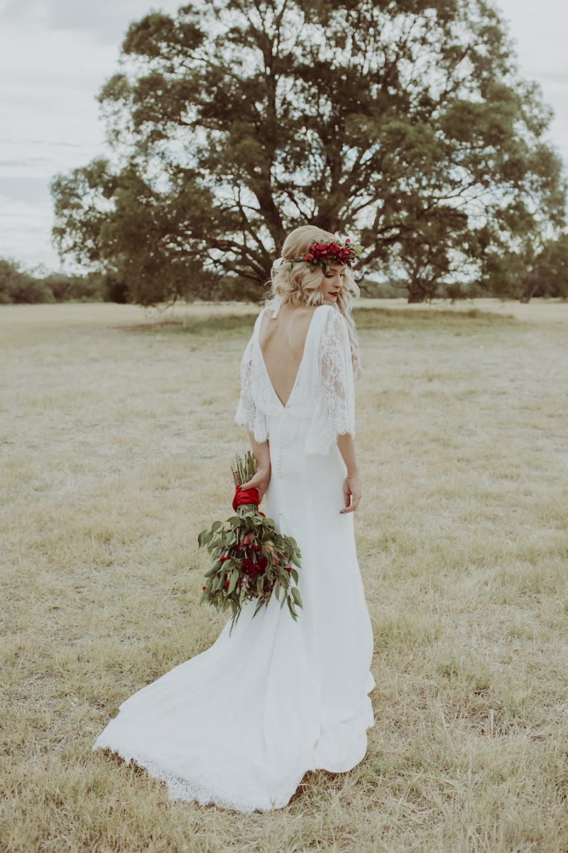 Maddie's Boho Wedding Dress