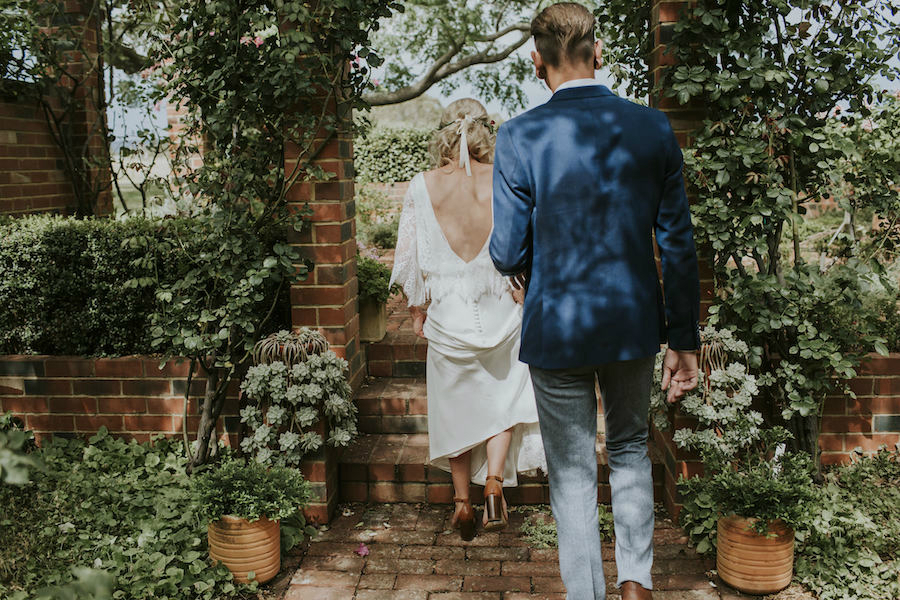 Maddie's Boho Wedding Dress Perth