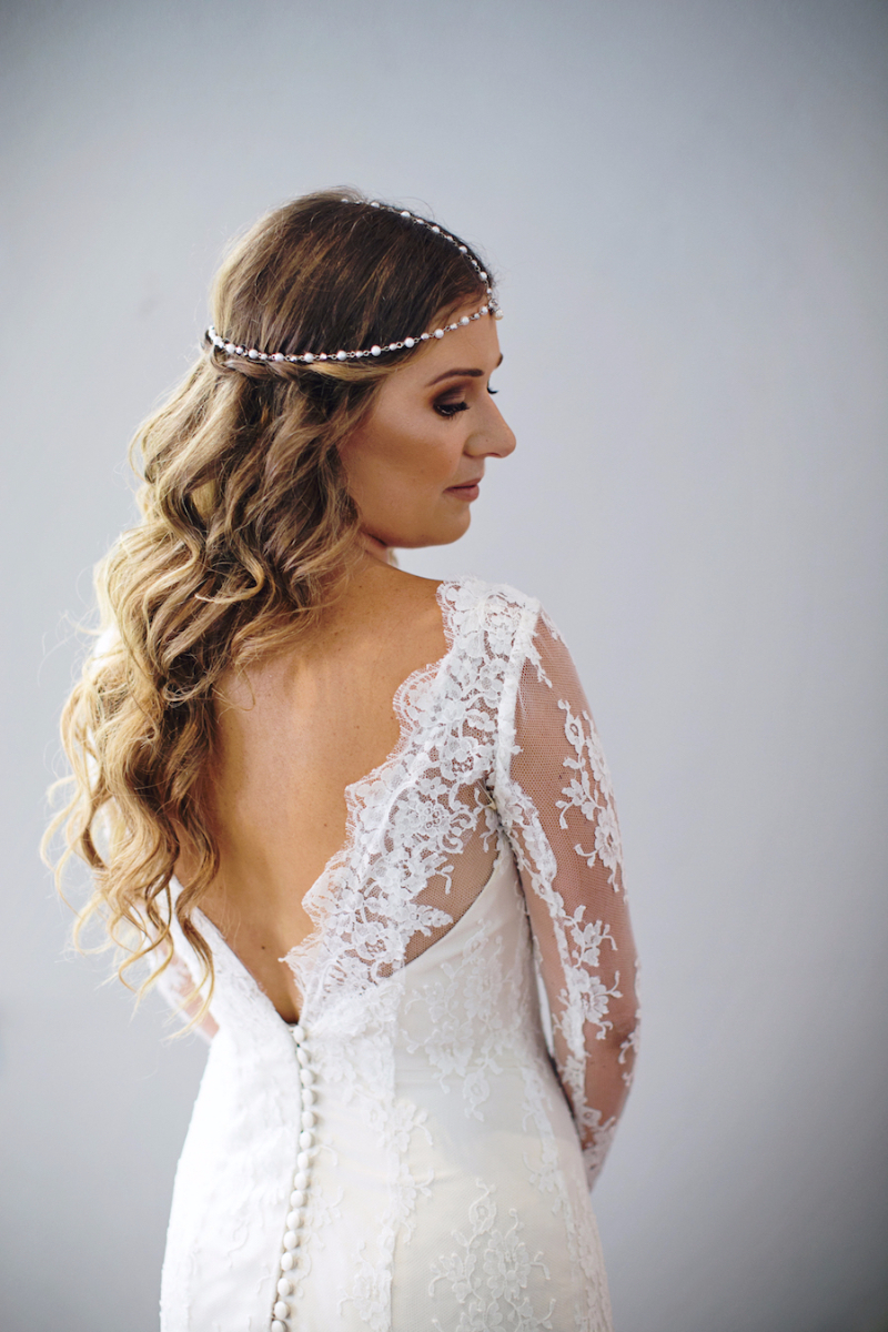 Linda's Long Sleeve Lace Wedding Dress