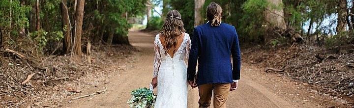 Linda's Long Sleeve Lace Wedding Dress Perth