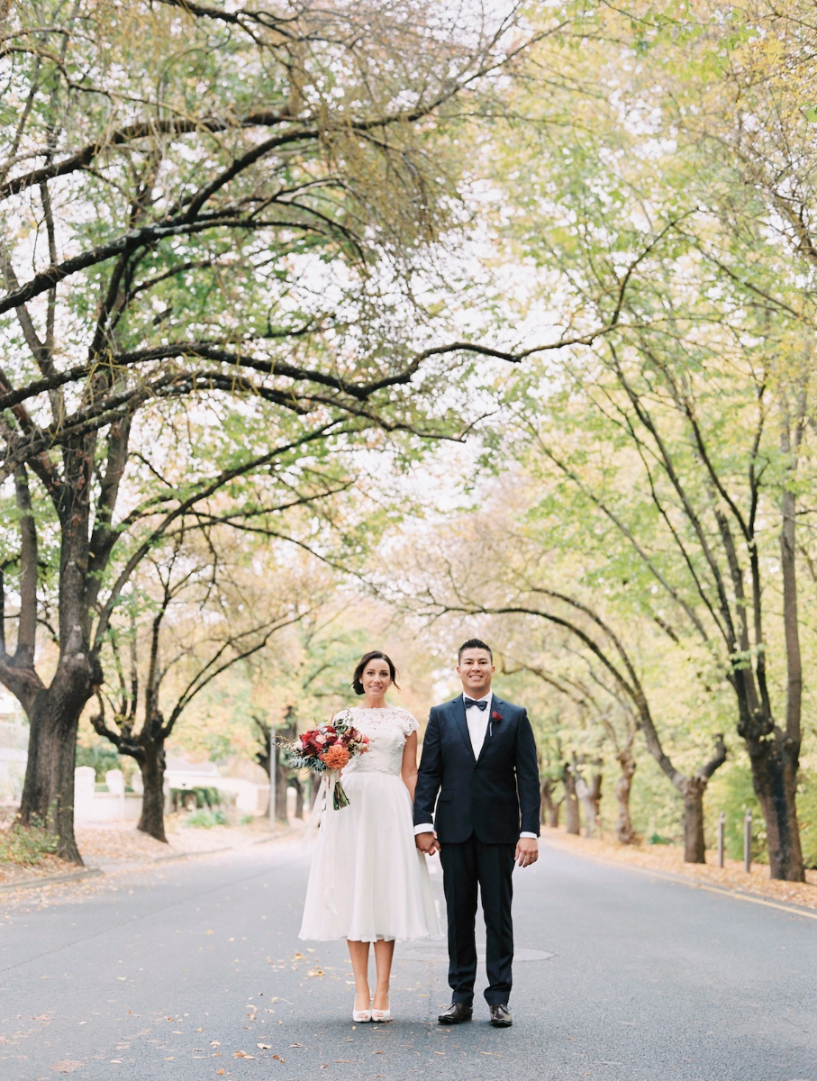 Jen's Elopement Wedding Dress