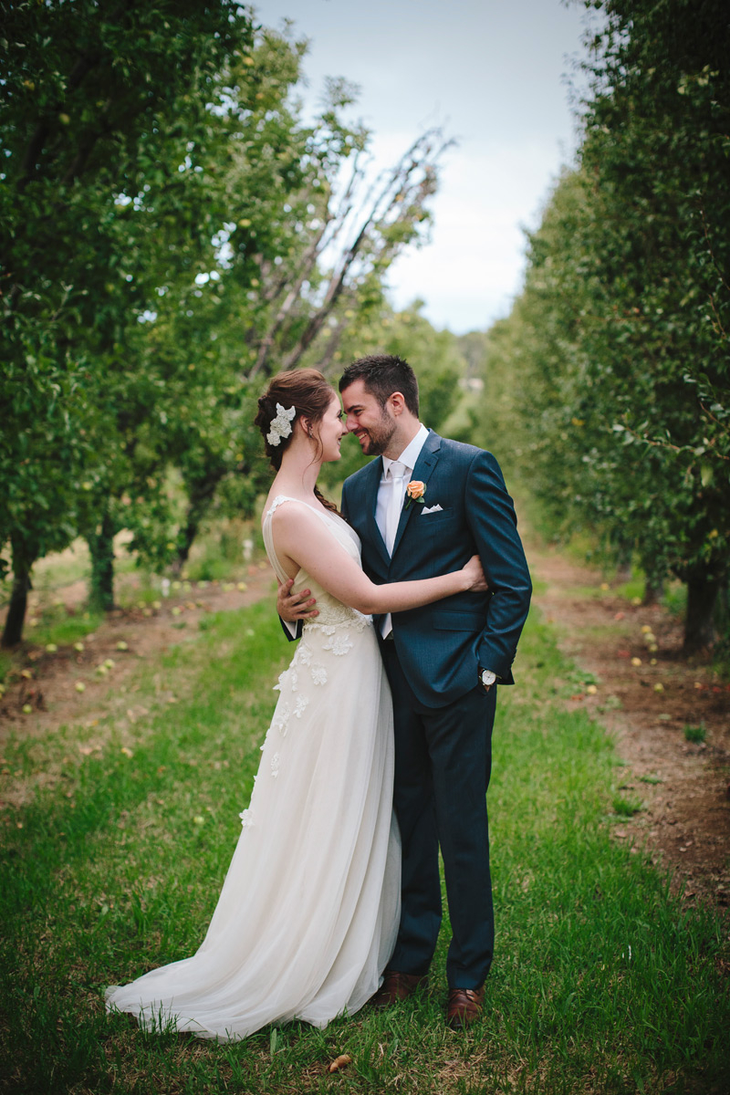 Liz's Soft Tulle Wedding Dress