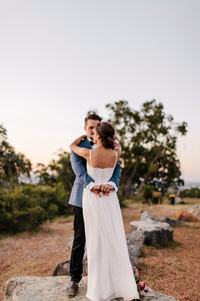 Perth Hills wedding