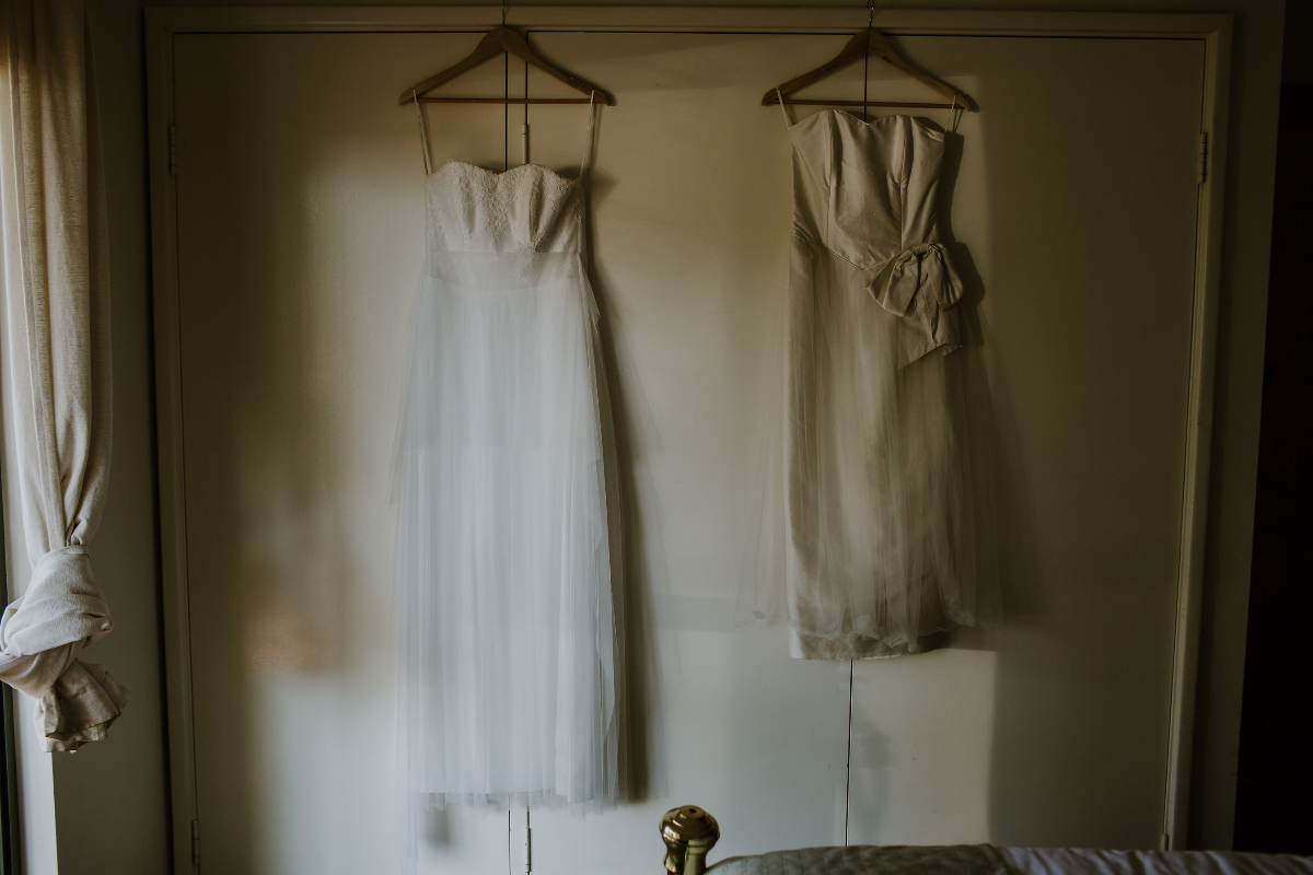 Amy's Relaxed Wedding Dress