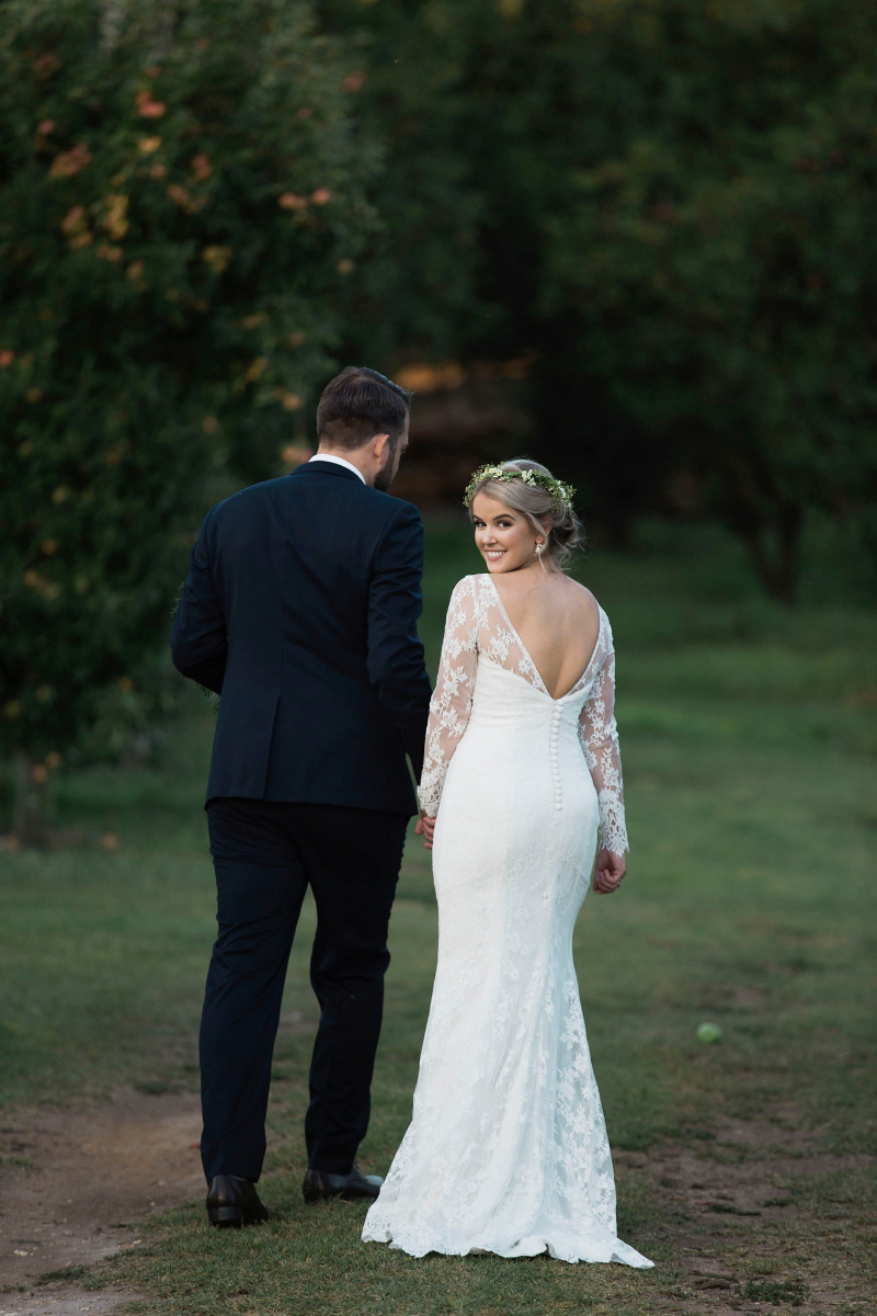 Elvi Design Wedding Dress with Sleeves Perth636