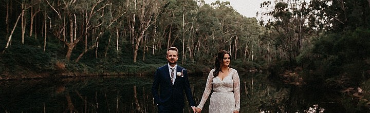 Sally's Lace Wedding Dress with Sleeves Perth