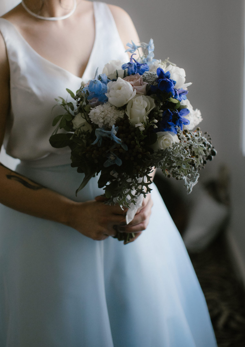 Elvi Design Blue Wedding Dress-171