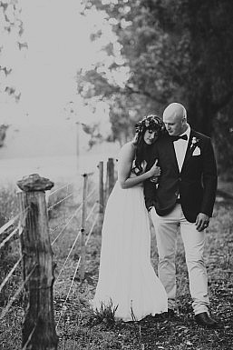 Elvi Design Relaxed Boho Wedding Dress Perth-636