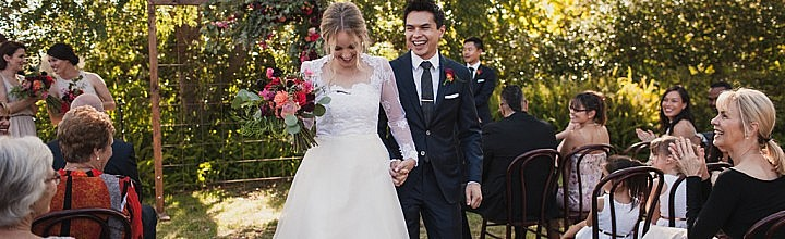 Emma's Vintage Lace Wedding Dress