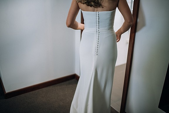 Elvi Design Minimal Silk Wedding Dress Perth-47