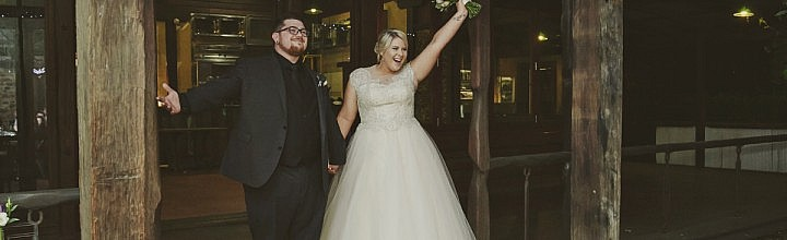 Ashleigh's Beaded French Lace Wedding Dress – Perth