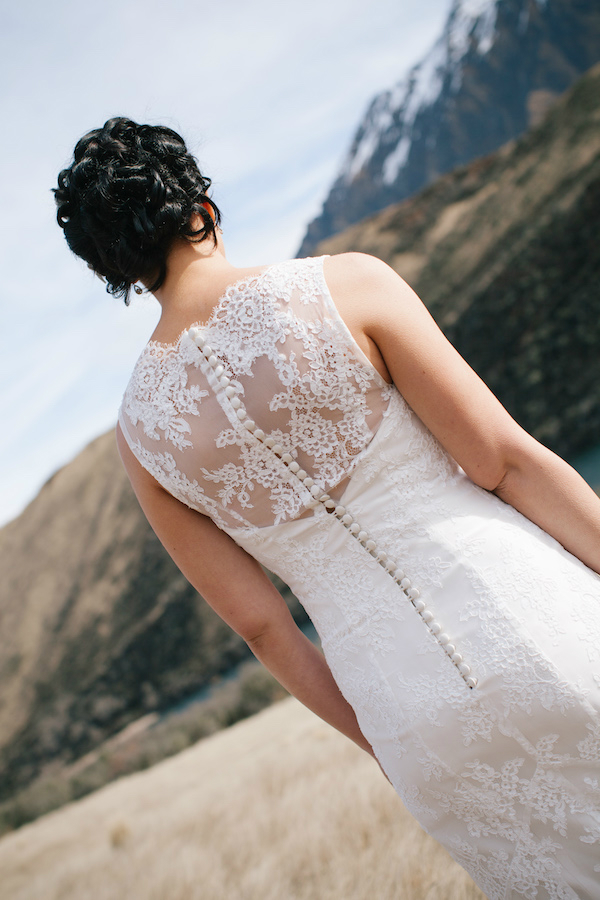 lace wedding dress perth