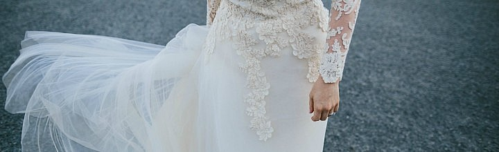 Jess's Long Sleeve Wedding Dress Perth