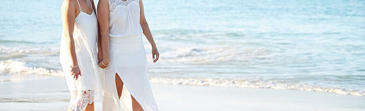 Georgia's Beach Wedding Dress Perth