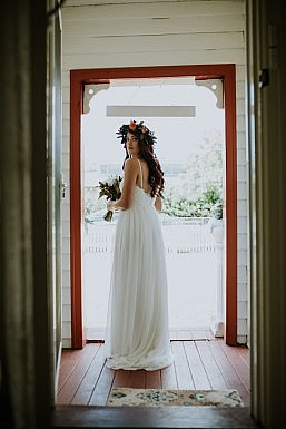 Elvi Design Relaxed Boho Wedding Dress Perth-253