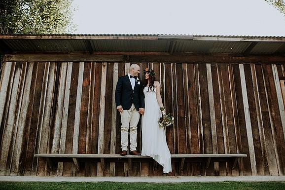 Elvi Design Relaxed Boho Wedding Dress Perth-505
